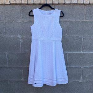 Calvin Klein White Summer Dress